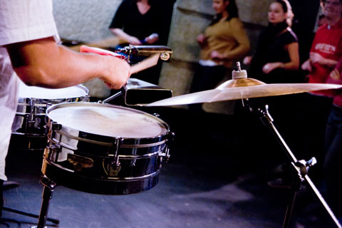 Timbales - Stage musicalité pour danseurs - Temática